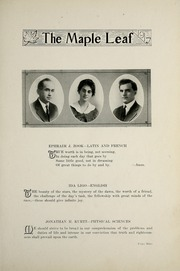 Page 13, 1917 Edition, Goshen College - Maple Leaf Yearbook (Goshen, IN) online yearbook collection