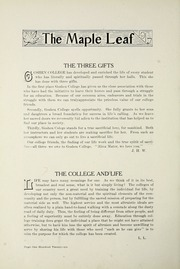 Page 130, 1917 Edition, Goshen College - Maple Leaf Yearbook (Goshen, IN) online yearbook collection