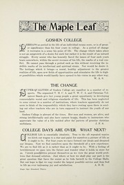 Page 134, 1917 Edition, Goshen College - Maple Leaf Yearbook (Goshen, IN) online yearbook collection