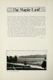 Page 140, 1917 Edition, Goshen College - Maple Leaf Yearbook (Goshen, IN) online yearbook collection