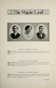Page 15, 1917 Edition, Goshen College - Maple Leaf Yearbook (Goshen, IN) online yearbook collection