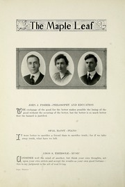 Page 16, 1917 Edition, Goshen College - Maple Leaf Yearbook (Goshen, IN) online yearbook collection