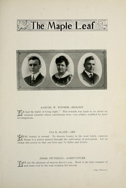 Page 17, 1917 Edition, Goshen College - Maple Leaf Yearbook (Goshen, IN) online yearbook collection