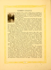 Page 10, 1923 Edition, Goshen College - Maple Leaf Yearbook (Goshen, IN) online yearbook collection