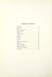 Page 10, 1925 Edition, Goshen College - Maple Leaf Yearbook (Goshen, IN) online yearbook collection