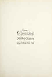 Page 11, 1925 Edition, Goshen College - Maple Leaf Yearbook (Goshen, IN) online yearbook collection