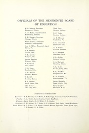 Page 12, 1925 Edition, Goshen College - Maple Leaf Yearbook (Goshen, IN) online yearbook collection