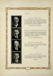 Page 16, 1926 Edition, Goshen College - Maple Leaf Yearbook (Goshen, IN) online yearbook collection