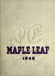 Goshen College - Maple Leaf Yearbook (Goshen, IN) online yearbook collection, 1946 Edition, Page 1