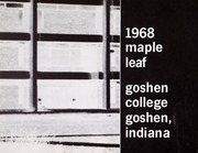 Page 6, 1968 Edition, Goshen College - Maple Leaf Yearbook (Goshen, IN) online yearbook collection