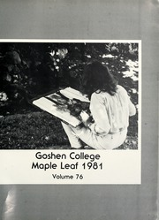 Page 5, 1981 Edition, Goshen College - Maple Leaf Yearbook (Goshen, IN) online yearbook collection