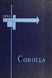 1965 Edition, University of Alabama - Corolla Yearbook (Tuscaloosa, AL)