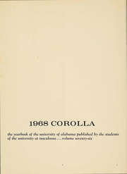 Page 4, 1968 Edition, University of Alabama - Corolla Yearbook (Tuscaloosa, AL) online yearbook collection