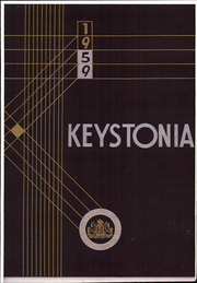 1959 Edition, Kutztown University - Keystonia Yearbook (Kutztown, PA)
