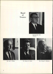 Page 12, 1969 Edition, Kutztown University - Keystonia Yearbook (Kutztown, PA) online yearbook collection