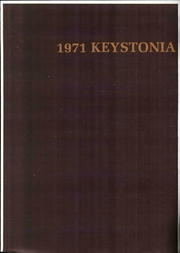1971 Edition, Kutztown University - Keystonia Yearbook (Kutztown, PA)