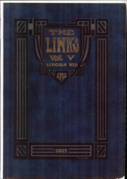 Page 1, 1921 Edition, Lincoln High School - Links Yearbook (Lincoln, NE) online yearbook collection