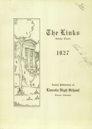Page 5, 1927 Edition, Lincoln High School - Links Yearbook (Lincoln, NE) online yearbook collection