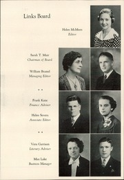 Page 15, 1936 Edition, Lincoln High School - Links Yearbook (Lincoln, NE) online yearbook collection