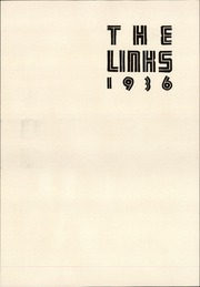 Page 5, 1936 Edition, Lincoln High School - Links Yearbook (Lincoln, NE) online yearbook collection