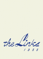 1955 Edition, Lincoln High School - Links Yearbook (Lincoln, NE)