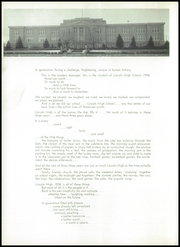 Page 14, 1958 Edition, Lincoln High School - Links Yearbook (Lincoln, NE) online yearbook collection