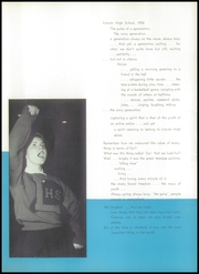 Page 9, 1958 Edition, Lincoln High School - Links Yearbook (Lincoln, NE) online yearbook collection