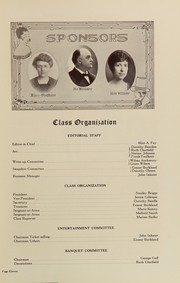 Page 15, 1923 Edition, Central High School - O Book Yearbook (Omaha, NE) online yearbook collection
