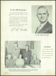 Page 8, 1952 Edition, South High School - Southite Yearbook (Omaha, NE) online yearbook collection