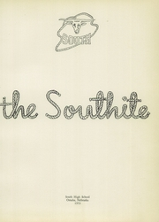 Page 5, 1953 Edition, South High School - Southite Yearbook (Omaha, NE) online yearbook collection