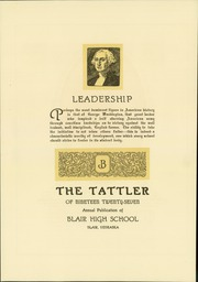 Page 11, 1927 Edition, Blair High School - Tattler Yearbook (Blair, NE) online yearbook collection