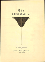 Page 11, 1928 Edition, Blair High School - Tattler Yearbook (Blair, NE) online yearbook collection