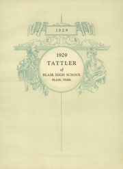 Page 7, 1929 Edition, Blair High School - Tattler Yearbook (Blair, NE) online yearbook collection