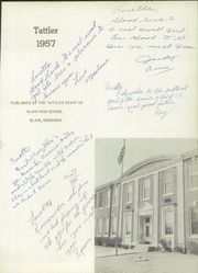 Page 5, 1957 Edition, Blair High School - Tattler Yearbook (Blair, NE) online yearbook collection