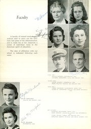 Page 12, 1941 Edition, Scottsbluff High School - Bluff Yearbook (Scottsbluff, NE) online yearbook collection