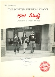 Page 5, 1941 Edition, Scottsbluff High School - Bluff Yearbook (Scottsbluff, NE) online yearbook collection