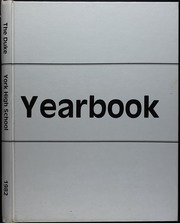 1982 Edition, York High School - Duke Yearbook (York, NE)