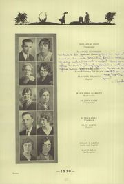 Page 16, 1930 Edition, Hastings High School - Tiger Yearbook (Hastings, NE) online yearbook collection