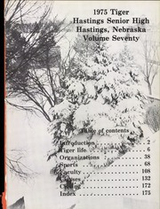 Page 5, 1975 Edition, Hastings High School - Tiger Yearbook (Hastings, NE) online yearbook collection
