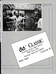 Page 5, 1986 Edition, Hastings High School - Tiger Yearbook (Hastings, NE) online yearbook collection