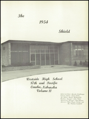 Page 5, 1954 Edition, Westside High School - Shield Yearbook (Omaha, NE) online yearbook collection