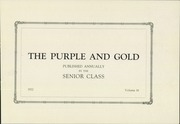 Page 5, 1922 Edition, Grand Island High School - Purple and Gold Yearbook (Grand Island, NE) online yearbook collection