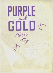 Page 1, 1952 Edition, Grand Island High School - Purple and Gold Yearbook (Grand Island, NE) online yearbook collection