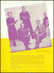 Page 12, 1952 Edition, Grand Island High School - Purple and Gold Yearbook (Grand Island, NE) online yearbook collection