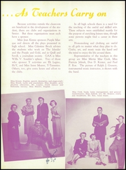 Page 16, 1952 Edition, Grand Island High School - Purple and Gold Yearbook (Grand Island, NE) online yearbook collection