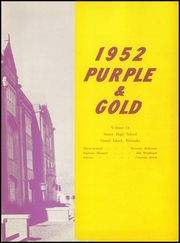 Page 7, 1952 Edition, Grand Island High School - Purple and Gold Yearbook (Grand Island, NE) online yearbook collection