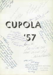 Page 7, 1957 Edition, Benson High School - Cupola Yearbook (Omaha, NE) online yearbook collection