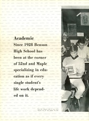 Page 14, 1968 Edition, Benson High School - Cupola Yearbook (Omaha, NE) online yearbook collection