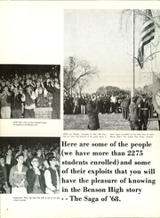 Page 8, 1968 Edition, Benson High School - Cupola Yearbook (Omaha, NE) online yearbook collection