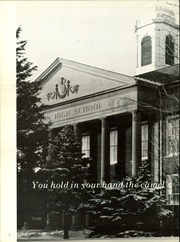 Page 6, 1969 Edition, Benson High School - Cupola Yearbook (Omaha, NE) online yearbook collection